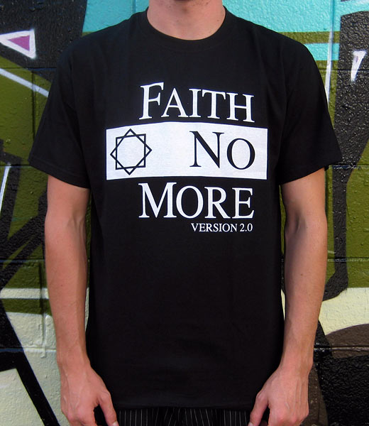Faith No More - Logo Black