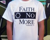 Faith No More - Logo White
