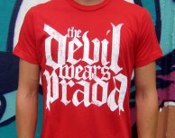The Devil Wears Prada - Logo White